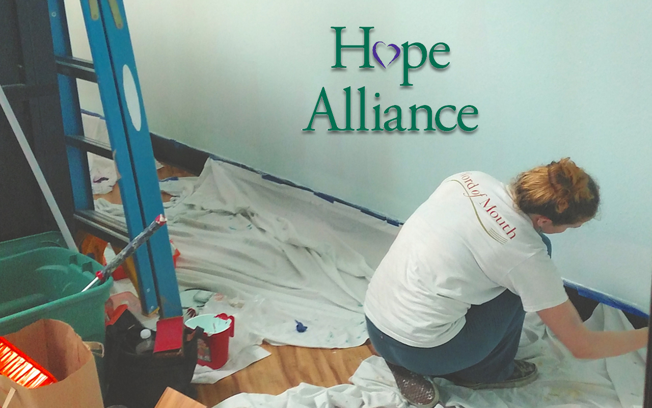 Rooms for hope. Hope Alliance
