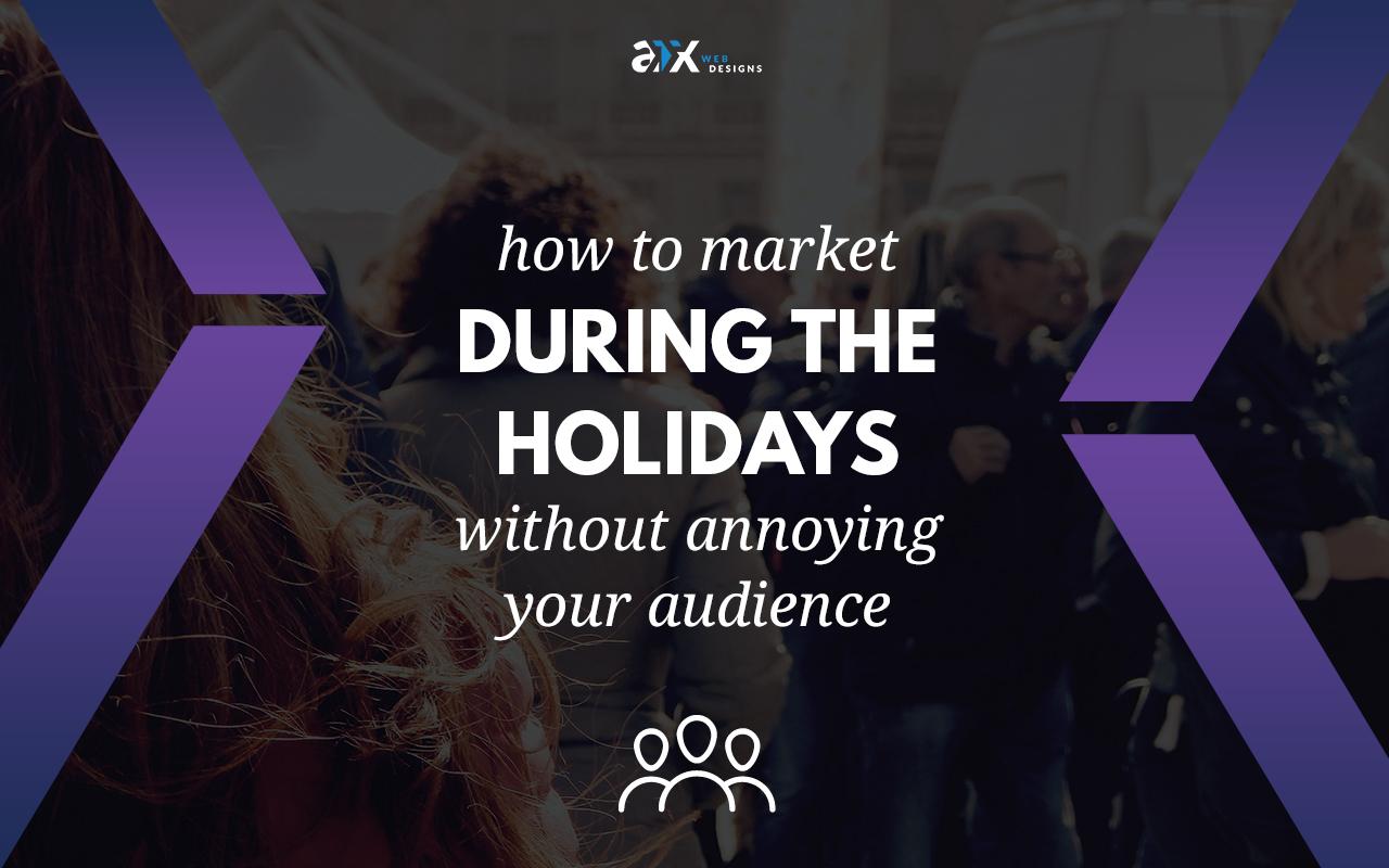market during holidays