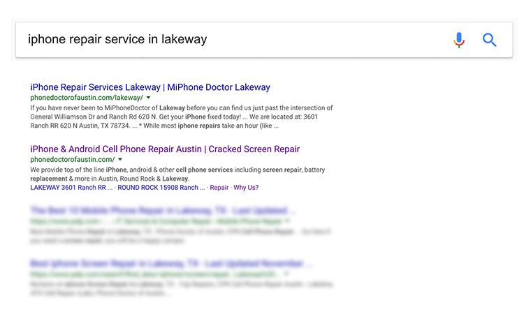 SEO_search_lakeway_loaction_franchise_graphic